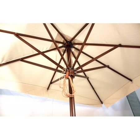 Parasol profesional de madera
