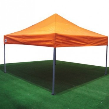 Carpa plegable 3x3 naranja