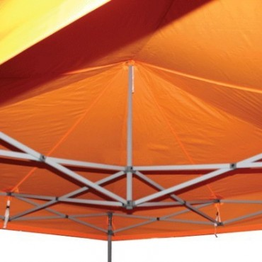 Carpa plegable 3x3 naranja