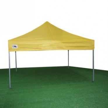 Carpa plegable 3x3 amarilla