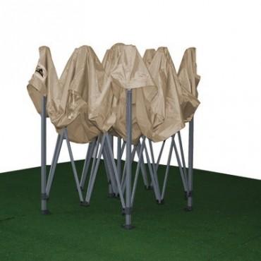 Carpa plegable 3x3 gris topo