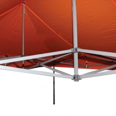 Carpa plegable 3x6 naranja