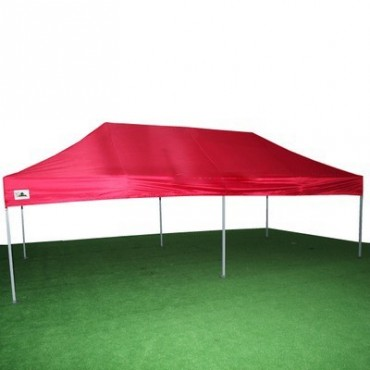Carpa plegable 3x6 roja