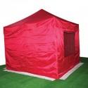 Carpa plegable 3x3 roja