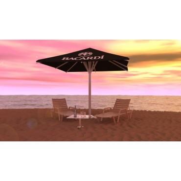 Parasol personalizado para playa