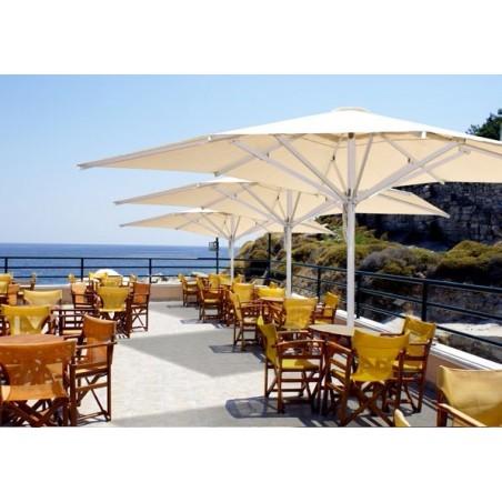 Parasol élite para terraza de restaurante