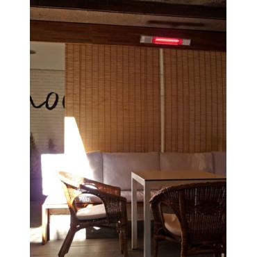 Calefactor halógeno para techo