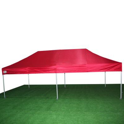 carpa plegable roja