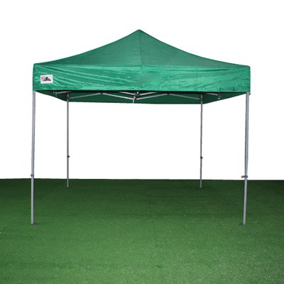carpa plegable verde de 3x3 m.