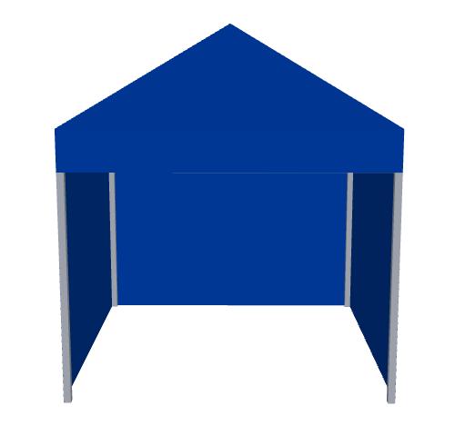 Carpa para niños azul