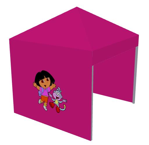 Carpa rosa Dora la Exploradora