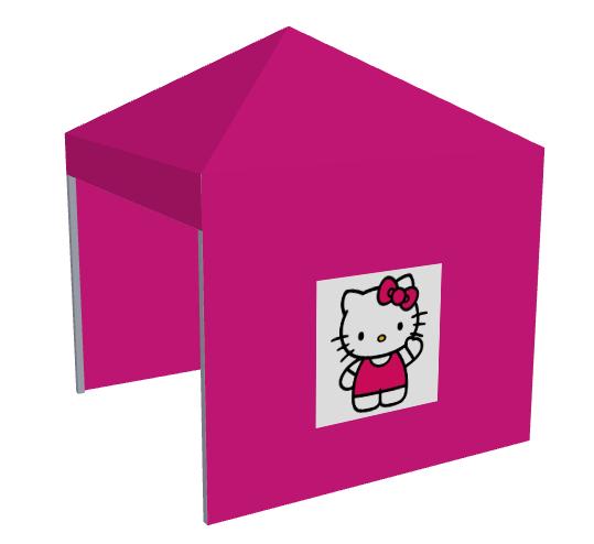 Carpa rosa Hello Kitty