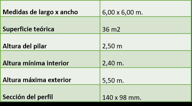 carpa jaima 6x5 m blanca